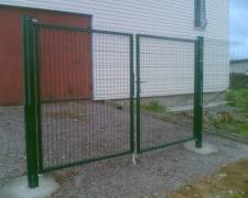 Ворота калитки : фото 4
