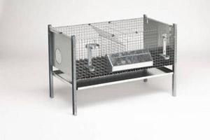 Цены на клетки для кроликов