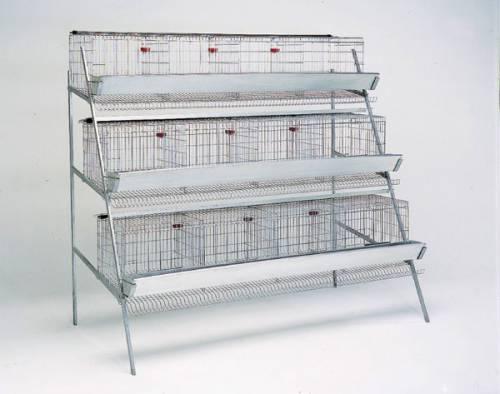 Клетки для кур несушек, 3 яруса на 48-60 птиц