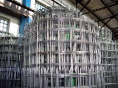 Сварная металлическая сетка в рулонах